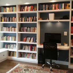 Home Office and Bookshelves