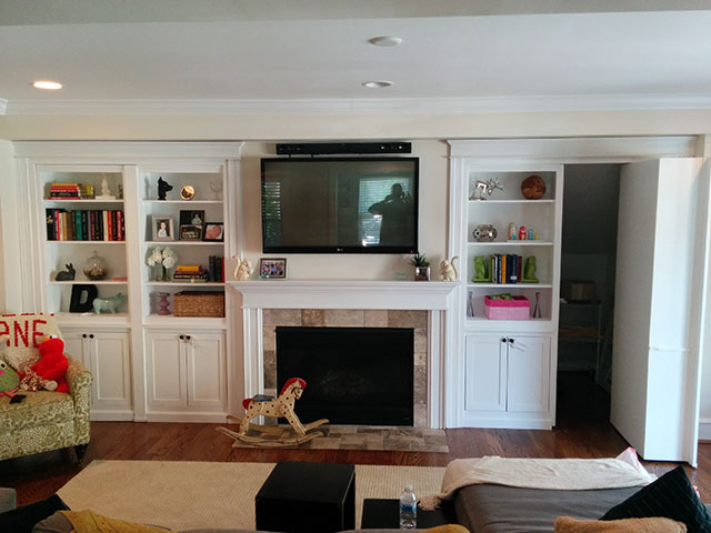 High Quality ... Built In Cabinets Around Fireplace Philadelphia