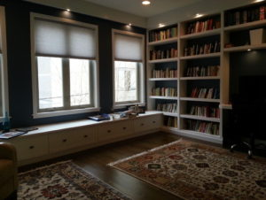 custom built bookcases